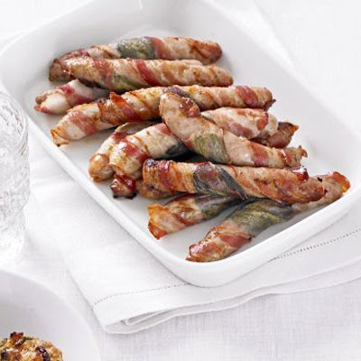 Chipolatas Wrapped In Sage & Pancetta