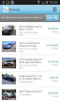 Screenshot of eBay Classifieds