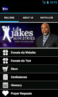 Screenshot of Bishop T.D. Jakes Ministries