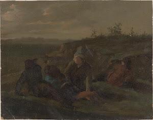 RIJKS: Simon Andreas Krausz: painting 1825
