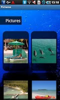 Screenshot of Andros Bahamas Travel Guide