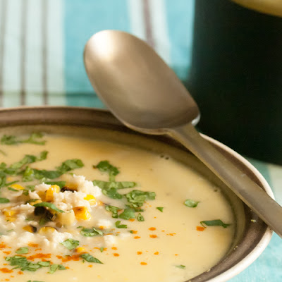 Fresh Mexican Corn Soup
