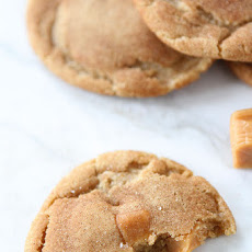 Brown Butter Salted Caramel Cookies