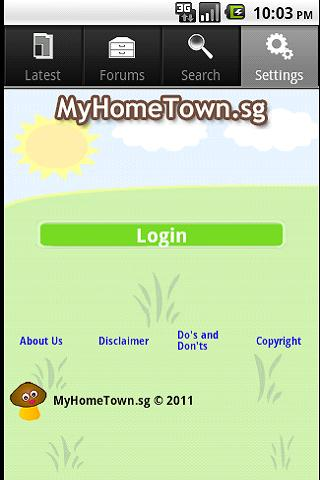 myhometown-sg for android screenshot