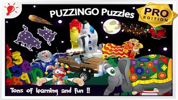 Screenshot of Puzzingo Kids Puzzles (Pro)