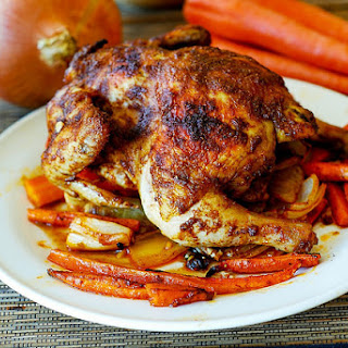 Roasted Cornish Hen And Vegetables