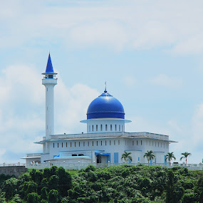 Masjid Jamek, Mersing, Johor. by Esyam Din - Buildings & Architecture Statues & Monuments