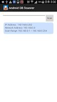 Screenshot of DB Scanner