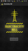 Screenshot of Electricity Bill Sri Lanka