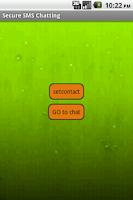 Screenshot of Secret Chatting