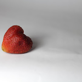 Strawberry by Kansas Allen - Food & Drink Fruits & Vegetables ( fruit, red, canada, white, seeds, bc, strawberry, lillooet )