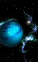Screenshot of GyroSpace 3D Live Wallpaper