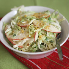 Sweet and Spicy Apple Coleslaw