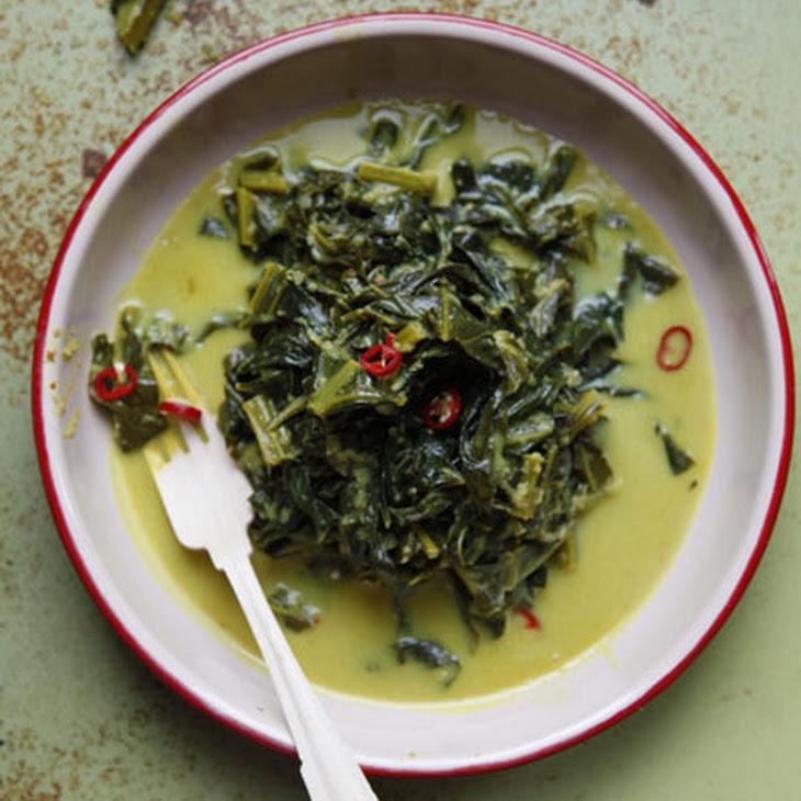 Gulai Sayur (Indonesian-Style Collard Greens Curry)