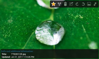 Screenshot of JustPictures!