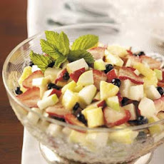Hint of Mint Fruit Salad Recipe