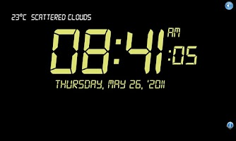 Screenshot of Clock Talk 3  FREE