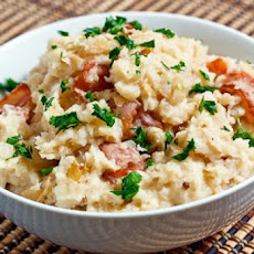 Cabbage and Bacon Mashed Potatoes
