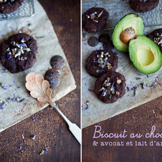 Chocolate, Avocado, and Almond Milk Cookie