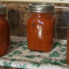 Homemade Canned Pizza Sauce
