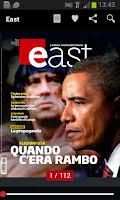 Screenshot of East Global Geopolitics