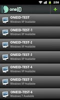 Screenshot of oneID Free - PC Remote Control