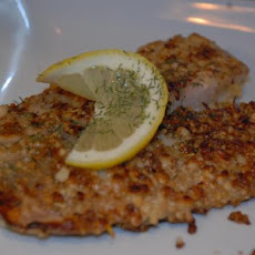 Pine Nut-Crusted Tilapia