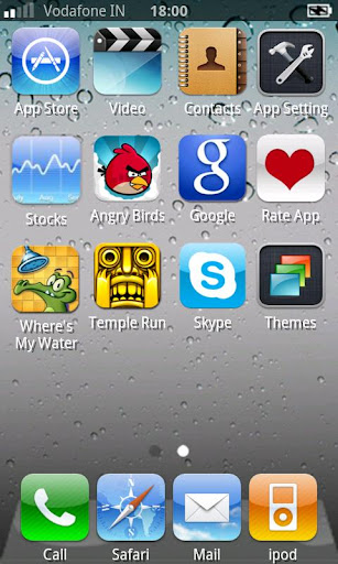 iphone-5-theme for android screenshot
