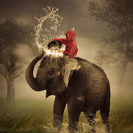 by Alfa Oldicius - Digital Art Animals