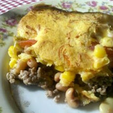 Spicy Black-Eyed Pea and Rice Frittata