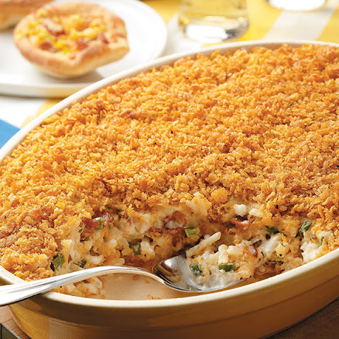 Bacon-Scallion Hash Brown Casserole