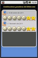Screenshot of EuroDroid EuroMillions Manager