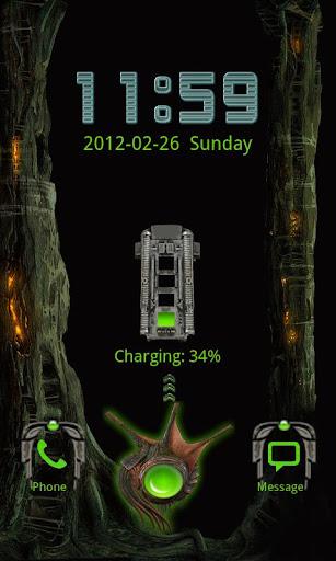 玩個人化App|Alien X Clock免費|APP試玩