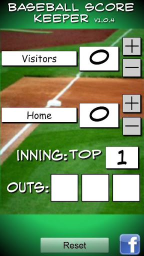 Baseball Softball Score Keeper