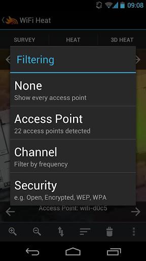 WiFi Heat - screenshot