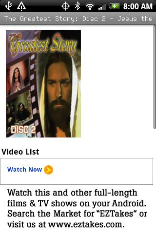 Greatest Story: Jesus Healer