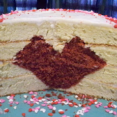 Baking A Heart Inside A Cake