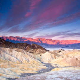 Zabriskie Point by Gale Perry - Landscapes Deserts (  )