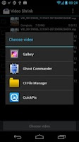 Screenshot of Video Shrink (reduce size)
