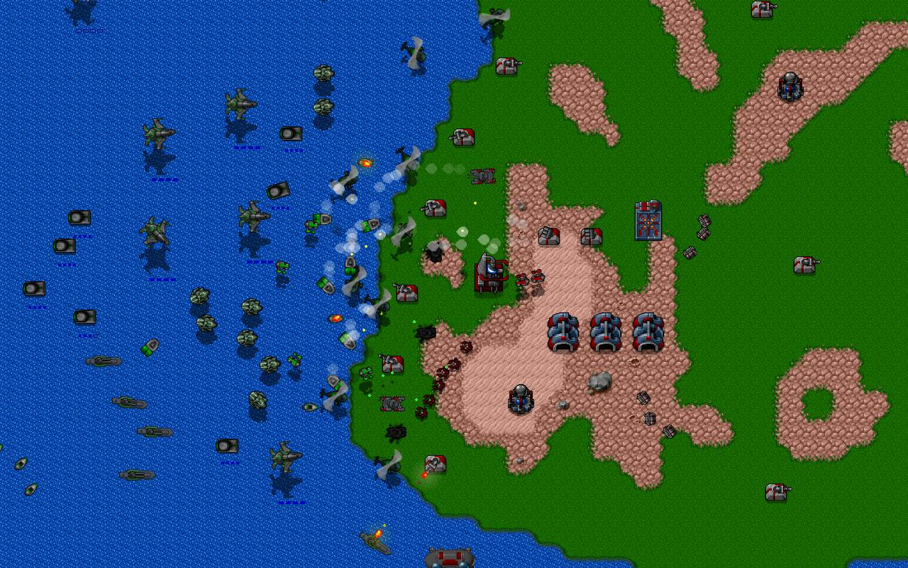 Rusted Warfare - RTS Strategy Screenshot 0