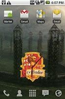 Screenshot of Harry Potter Gryffindor Clock