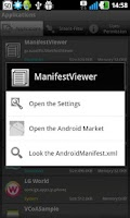 Screenshot of ManifestViewer