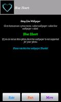 Screenshot of Blue Heart
