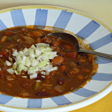 Scott's Five Bean Chili