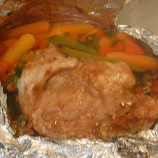 Foil Wrapped Oriental Chicken