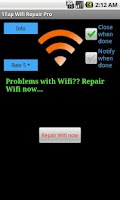 Screenshot of 1Tap WiFi Repair Lite