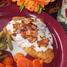 Chicken With Cordon Bleu Gravy