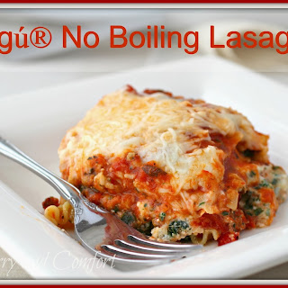 No Boiling Lasagna featuring Ragú® Old World Style® Traditional Sauce