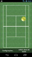 Screenshot of Tennis Bounce LiveWallpaper