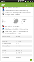 Screenshot of wetter.de